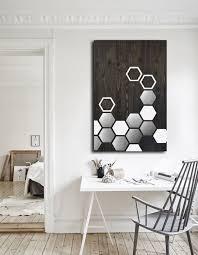 Mod Home Decor Buy A Custom Mod Honeycomb 36x24 Wood Wall Metal