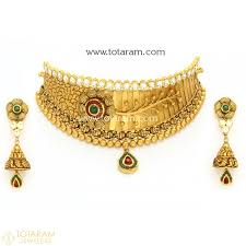necklace design with price images 22k gold antique necklace sets indian gold jewelry from totaram jpg