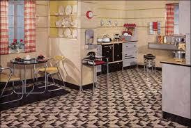 ideas for kitchen flooring furniture amazing cool kitchen floor ideas design 1935 retro