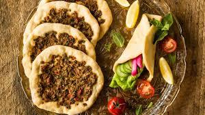 cuisine armenienne pizzas arméniennes à la viande lahmajoun de christelle