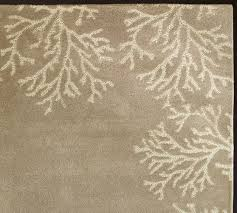 coral border rug neutral pottery barn