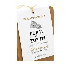 williams sonoma popcorn packaging u2014 kathy black
