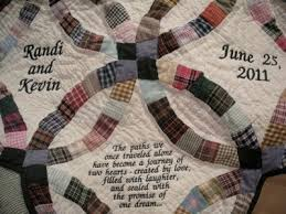 wedding quilt sayings bluebird gardens quilts and gifts