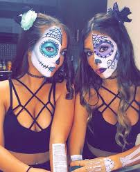 20 best friend halloween costumes for girls sugar skull costume