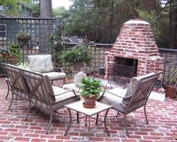 Outdoor Patio Fireplace Designs How To Build An Outdoor Brick Fireplace Building A Brick Patio
