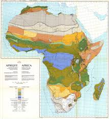 Africa Population Map by National Soil Maps Eudasm Esdac European Commission