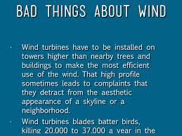 Bad Energy by Wind Energy By Plum Lane