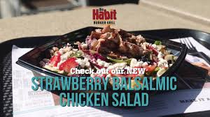 Gazebo Dressing Chicken by Our New Strawberry Balsamic Chicken The Habit Burger Grill