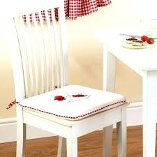 kitchen chair cushions with ties rocking pads medium size of small