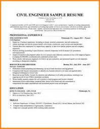Civil Engineer Resume Example by Resume Template Engineering Mechanical Engineer Resume Samples