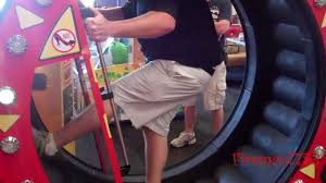 even the adults play at chuck e cheese