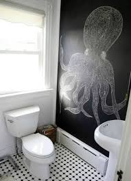 coastal wall treatment ideas for the bathroom murals stripes