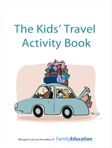 Printable Activity Book Kids Travel Activity Book Familyeducation