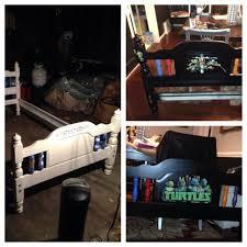 Teenage Mutant Ninja Turtles Twin Bed Set ana white teenage mutant ninja turtle bedroom diy projects