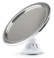 Chrome Bathroom Mirror Fogless Shower Mirror For No Fog Chrome