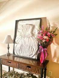 display your wedding dress in the closet claudia pop