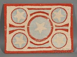 Rug With Stars 2296 Best A Hooked Rugs Images On Pinterest Rug Hooking Punch