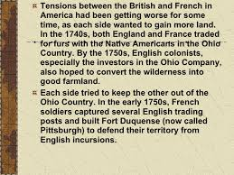 the french and indian war all