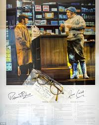 fork handles u0027 two ronnie script goes under the hammer daily mail