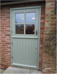 Exterior Door Furniture Uk Doors Stable Door With 4 Panes Made From Oak