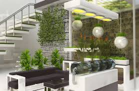 Indoor Garden Wall by Interior Modern Indoor Garden Wall Inspiration With Brown Modern