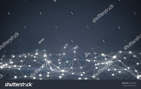 futuristic shape computer generated abstract background stock