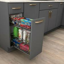kitchen base cabinets with drawers 5 heavy duty metal kitchen base cabinet pullout for 6 inch opening soft ebay