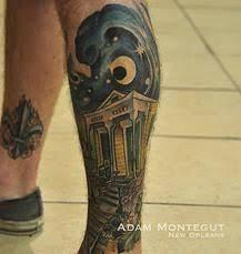 louisiana themed tattoos tattoos michigan island themed back