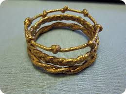 Metallic Gold Fabric Spray Paint - diy projects u0026 crafts bangle metallic gold paint and fabric