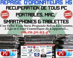 reprise ordinateur de bureau rachat pc portables hs mac smartphones tablettes bordeaux