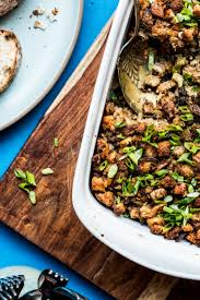 thanksgiving stuffing for two recipe francis ang u0027s pork sisig stuffing sfgate