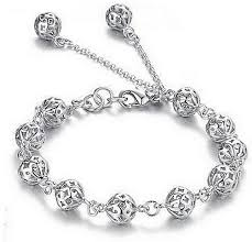 silver jewelry charm bracelet images Silver shoppee sterling silver charm bracelet price in india buy jpeg