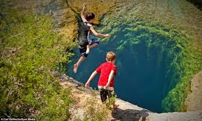 Texas snorkeling images Jacob 39 s well texas 39 most dangerous diving spot amusing planet jpg