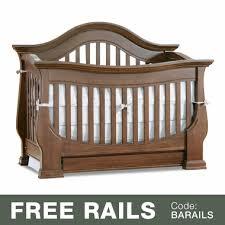 Davenport Convertible Crib Baby Appleseed Davenport 3 In 1 Convertible Crib In Coco Free Shipping