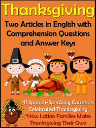 thanksgiving cultural readings in el dia de accion de