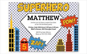 printable superhero birthday invitations 21 superhero birthday