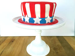 how to make an uncle sam u0027s hat cake for the 4th of july