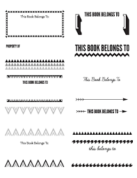 printable bookplates real purdy
