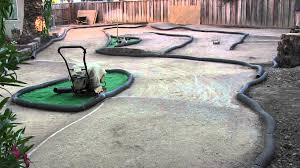backyard rc track b4 2 practice 06 27 youtube