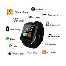 amazon com pandaoo u8 plus bluetooth smart watch for android