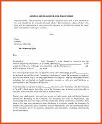 internship letter program format