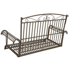 Hanging Patio Swing Chair Bcp Iron Patio Hanging Porch Swing Chair Bench Seat Outdoor