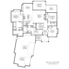 willow floor plan from noco custom homes
