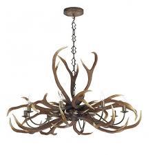 rustic ceiling lights uk david hunt emperor stag antler ceiling light large rustic pendant