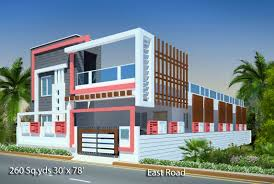 floor plans and elevations of houses way2nirman 260 sq yds 30x78 sq ft east face house 3bhk elevation