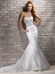 mermaid style wedding dress wedding dresses strapless white color bling belt mermaid style