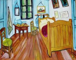 gogh chambre arles tableau huile la chambre d arles gogh par l artiste sances