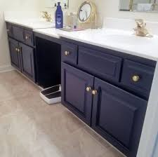 navy blue floor l thing to say about blue bathroom vanity cabinet justhomeit com