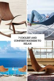 Comfortable Rockers 7 Coolest And Comfiest Rockers To Relax Digsdigs