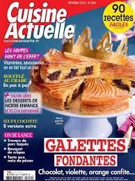 magazine cuisine actuelle cuisine actuelle n 326 du 08 janvier 2018 à télécharger sur